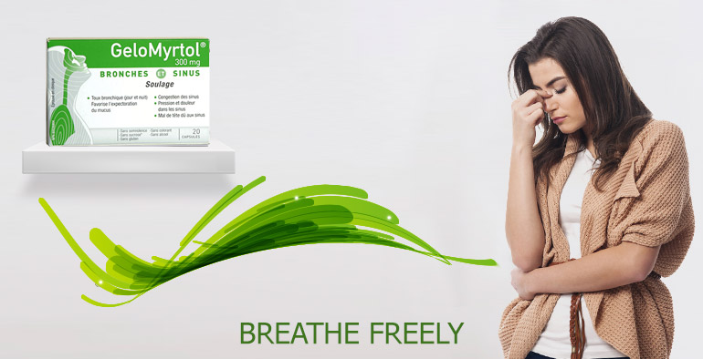 Breathe Freely with Gelomyrtol